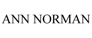 mark for ANN NORMAN, trademark #78907891