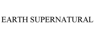 mark for EARTH SUPERNATURAL, trademark #78909768