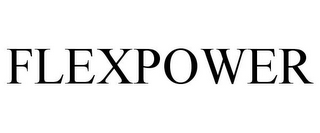mark for FLEXPOWER, trademark #78909986