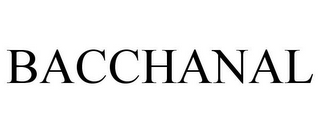 mark for BACCHANAL, trademark #78910060