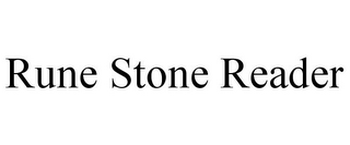 mark for RUNE STONE READER, trademark #78910846