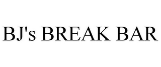 mark for BJ'S BREAK BAR, trademark #78911456