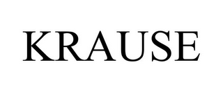 mark for KRAUSE, trademark #78912152
