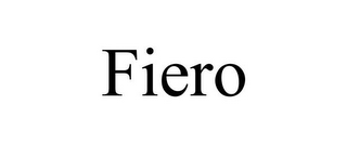 mark for FIERO, trademark #78913981