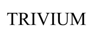 mark for TRIVIUM, trademark #78914298