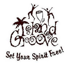 mark for ISLAND GROOVE SET YOUR SPIRIT FREE!, trademark #78916216