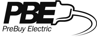 mark for PBE PREBUY ELECTRIC, trademark #78916243