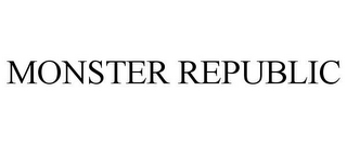 mark for MONSTER REPUBLIC, trademark #78916246