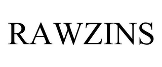 mark for RAWZINS, trademark #78916626