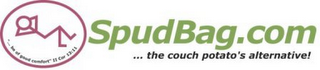 "mark for SPUDBAG.COM ...THE COUCH POTATO'S ALTERNATIVE! ""... BE OF GOOD COMFORT"" II COR 13:11, trademark #78916668"