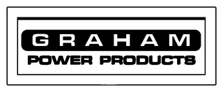 mark for GRAHAM POWER PRODUCTS, trademark #78916672