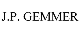 mark for J.P. GEMMER, trademark #78916710