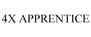 mark for 4X APPRENTICE, trademark #78917130