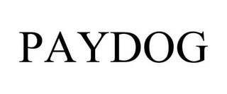 mark for PAYDOG, trademark #78918087