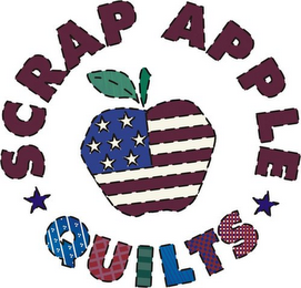 mark for SCRAP APPLE QUILTS, trademark #78918142