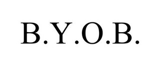 mark for B.Y.O.B., trademark #78918176