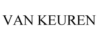 mark for VAN KEUREN, trademark #78918540