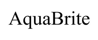 mark for AQUABRITE, trademark #78918586