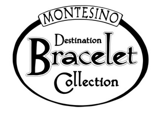 mark for MONTESINO DESTINATION BRACELET COLLECTION, trademark #78919506
