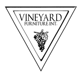 mark for VINEYARD FURNITURE INT., trademark #78919642