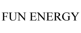 mark for FUN ENERGY, trademark #78920946
