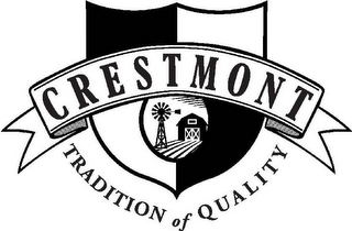 mark for CRESTMONT TRADITION OF QUALITY, trademark #78921300