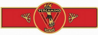 mark for PERGAMINO NICARAGUA HAND MADE LONG FILLER, trademark #78922156