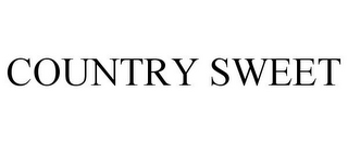 mark for COUNTRY SWEET, trademark #78923852