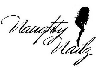 mark for NAUGHTY NAILZ, trademark #78924507