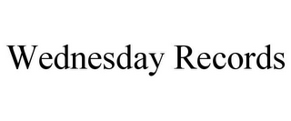 mark for WEDNESDAY RECORDS, trademark #78925040