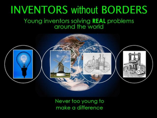 mark for INVENTORS WITHOUT BORDERS YOUNG INVENTORS SOLVING REAL PROBLEMS AROUND THE WORLD NEVER TOO YOUNG TO MAKE A DIFFERENCE, trademark #78925194
