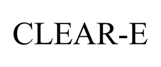 mark for CLEAR-E, trademark #78926774
