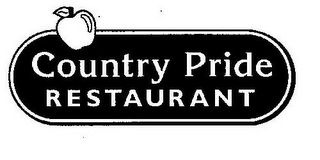 mark for COUNTRY PRIDE RESTAURANT, trademark #78927705
