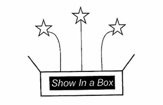 mark for SHOW IN A BOX, trademark #78928581