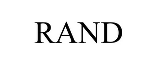 mark for RAND, trademark #78928856