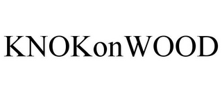 mark for KNOKONWOOD, trademark #78929085