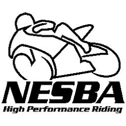 mark for NESBA HIGH PERFORMANCE RIDING, trademark #78929280