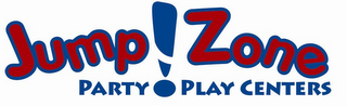 mark for JUMP!ZONE PARTY PLAY CENTERS, trademark #78929993