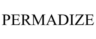 mark for PERMADIZE, trademark #78930036
