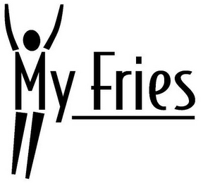 mark for MY FRIES, trademark #78930212