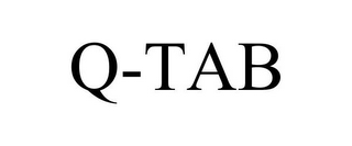 mark for Q-TAB, trademark #78931635