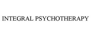 mark for INTEGRAL PSYCHOTHERAPY, trademark #78931808