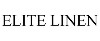 mark for ELITE LINEN, trademark #78931921