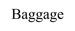 mark for BAGGAGE, trademark #78932282