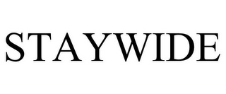 mark for STAYWIDE, trademark #78932529