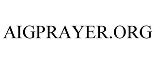 mark for AIGPRAYER.ORG, trademark #78932688