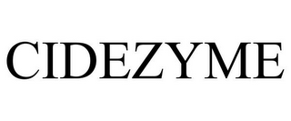 mark for CIDEZYME, trademark #78932810