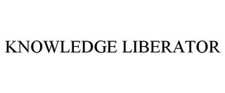 mark for KNOWLEDGE LIBERATOR, trademark #78933887