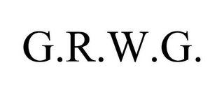 mark for G.R.W.G., trademark #78935305