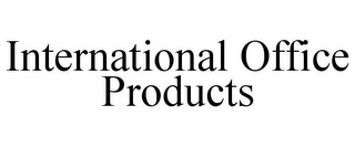 mark for INTERNATIONAL OFFICE PRODUCTS, trademark #78935916